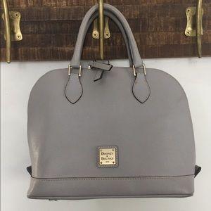Dooney & Bourke   Grey Zip Zip satchel purse